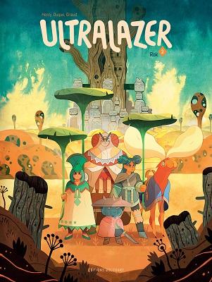 Couverture Ultralazer, tome 2 : Rok