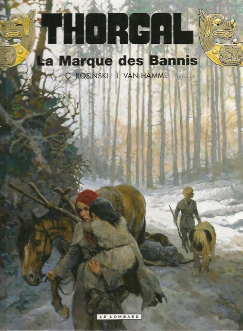 Couverture Thorgal, tome 20 : La Marque des Bannis