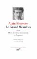 Couverture Le Grand Meaulnes Editions Gallimard  (Bibliothèque de la Pléiade) 2020