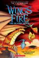 Couverture Les Royaumes de Feu (BD), tome 1 : La prophétie Editions Scholastic 2018