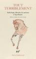 Couverture Tout terriblement Editions Gallimard  (Poésie) 2018