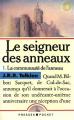 Couverture Le Seigneur des Anneaux, tome 1 : La communauté de l'anneau / La fraternité de l'anneau Editions Presses pocket 1989