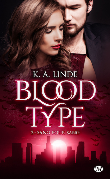 Couverture Blood Type, tome 2 : Sang pour sang