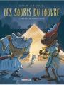 Couverture Les souris du Louvre, tome 1 : Milo et le monde caché Editions Delcourt 2018