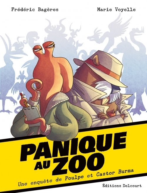 Couverture Panique au zoo