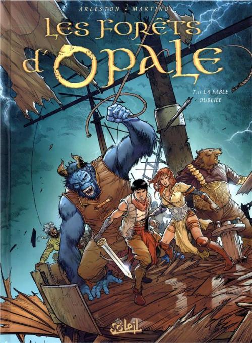 Couverture Les forêts d'opale, tome 11 : la fable oubliée