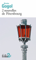 Couverture 2 nouvelles de Pétersbourg Editions Folio  (2 €) 2020