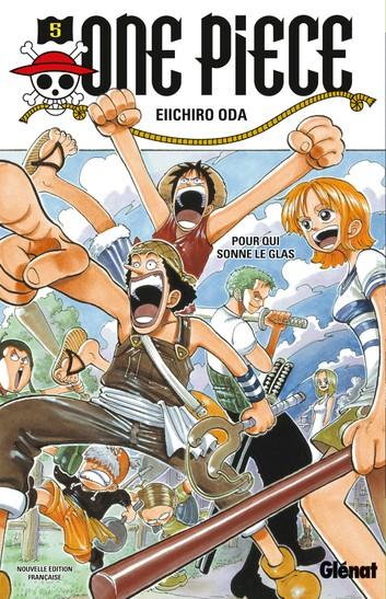 Couverture One Piece, tome 005 : Pour qui sonne le glas