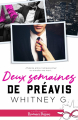 Couverture Deux semaines de préavis Editions Infinity (Romance passion) 2020