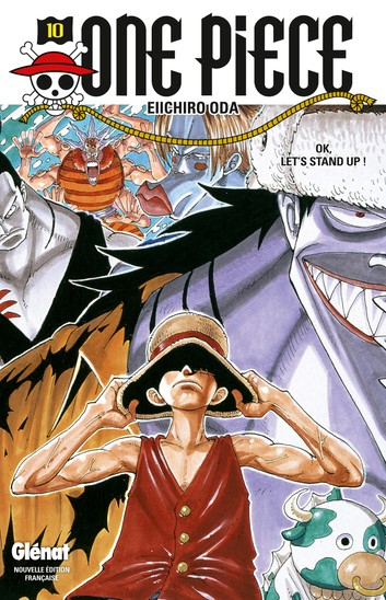 Couverture One Piece, tome 10 : OK, let's stand up !