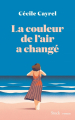 Couverture La couleur de l'air a changé Editions Stock 2020