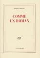 Couverture Comme un roman Editions Folio  2020