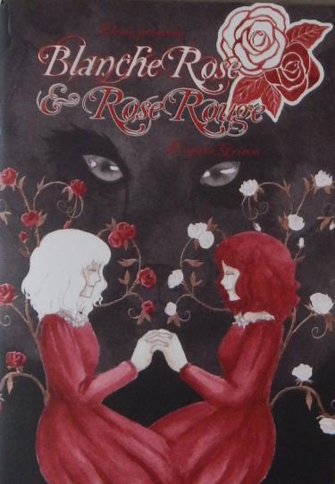 Couverture Blanche Rose et Rose Rouge