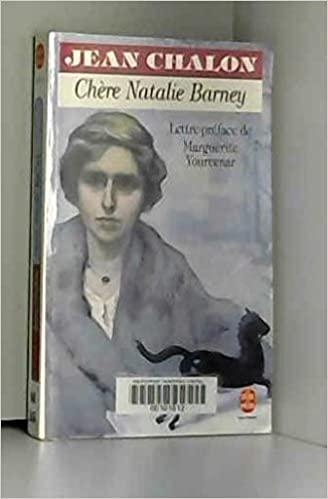 Couverture Chère Nathalie Barney
