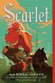 Couverture Chroniques lunaires, tome 2 : Scarlet Editions Square Fish 2020