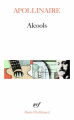 Couverture Alcools Editions Gallimard  (Poésie) 1988