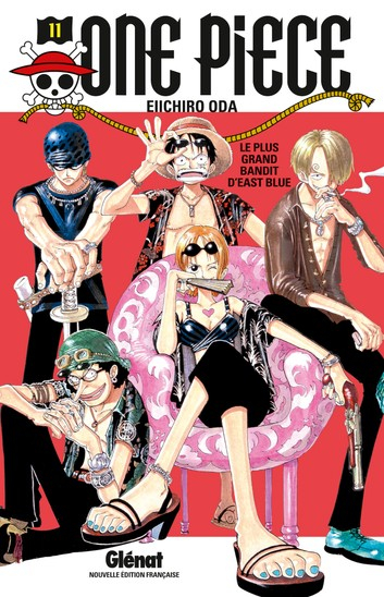 Couverture One Piece, tome 011 : Le pire brigand de tout East-Blue