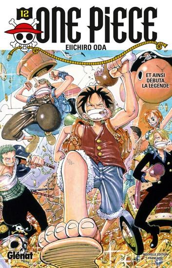 Couverture One Piece, tome 12 : La légende est en marche