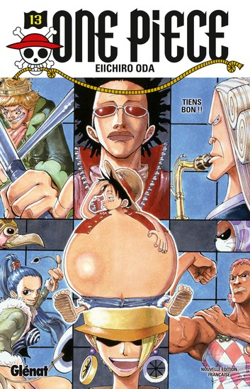 Couverture One Piece, tome 13 : Sois forte !