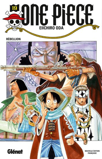 Couverture One Piece, tome 19 : Rébellion