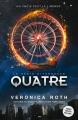 Couverture Divergente raconté par Quatre, édition augmentée Editions Nathan 2016