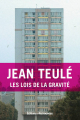Couverture Les lois de la gravité Editions Retrouvées 2016