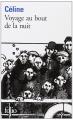 Couverture Voyage au bout de la nuit Editions Folio  2019