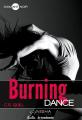 Couverture Burning dance, tome 1 Editions Nisha (Diamant noir) 2016