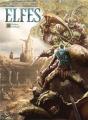 Couverture Elfes, tome 26 : Raïken-Kahlaal Editions Soleil 2020