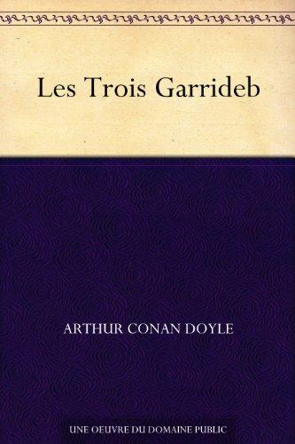 Couverture Les Trois Garrideb