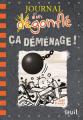 Couverture Journal d'un dégonflé, tome 14 : Ça Déménage ! Editions Seuil 2019