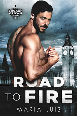 Couverture Broken Crown, book 1: Road to fire