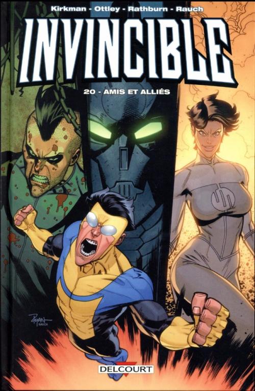 Couverture Invincible, tome 20 : Amis et alliés