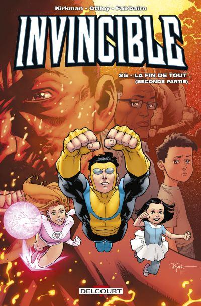 Couverture Invincible, tome 25 : La fin de tout (2eme partie)