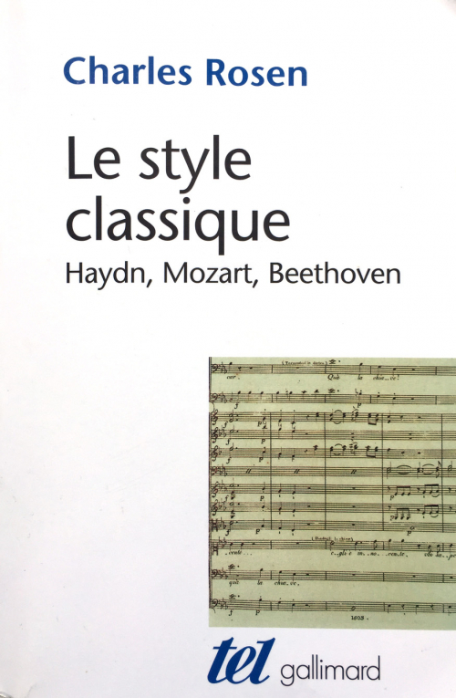 Couverture Le style classique : Haydn, Mozart, Beethoven