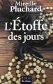 Couverture L'étoffe des jours Editions de Borée (Marge noire) 2014
