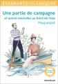Couverture Une partie de campagne et autres nouvelles Editions Flammarion (GF - Etonnants classiques) 2018