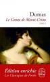 Couverture Le comte de Monte-Cristo (2 tomes), tome 2 Editions Le Livre de Poche (Classiques) 2012