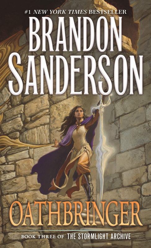 Couverture The Stormlight Archive, book 3: Oathbringer
