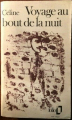 Couverture Voyage au bout de la nuit Editions Folio  1952