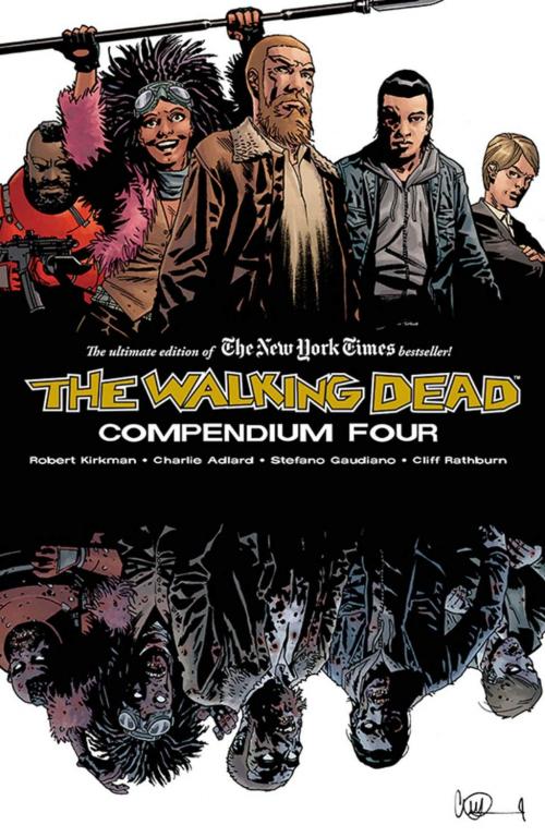 Couverture The walking dead: compedium four