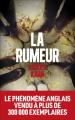 Couverture La rumeur Editions Escales 2020