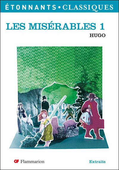 Couverture Les Misérables, abrégé, tome 1