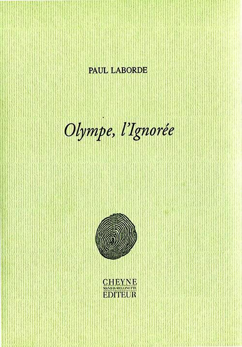 Couverture Olympe, l'Ignorée