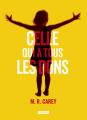 Couverture Celle qui avait tous les dons Editions L'Atalante (La Dentelle du cygne) 2014