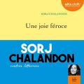 Couverture Une joie féroce Editions Audiolib 2019