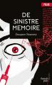 Couverture De sinistre mémoire Editions Les Nouveaux auteurs 2011