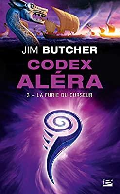 Couverture Codex Aléra, tome 3 : La Furie du Curseur