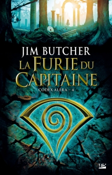 Couverture Codex Aléra, tome 4 : La Furie du Capitaine