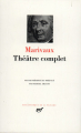 Couverture Théâtre complet Editions Gallimard  (Bibliothèque de la pléiade) 1950